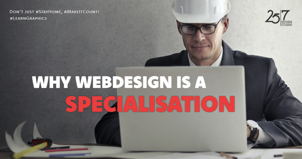 webdesign is a specialisation