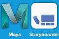 Autodesk Maya, Storyboarder