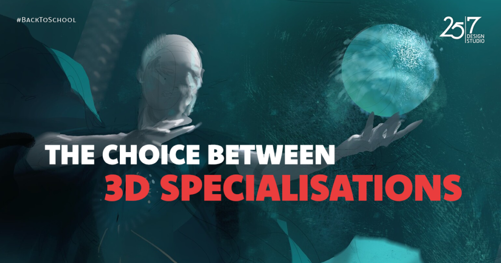 The Choice Between 3D Specialisations